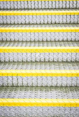 Metal Steps Poster by Tom Gowanlock