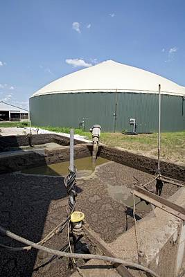 Methane Digester Poster by Jim West
