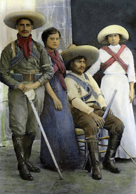 Mexican Revolutionaries Poster by Granger
