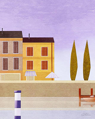 Mgl - Bathers And Coast 06 Poster by Joost Hogervorst