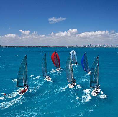 Miami Horizon Poster