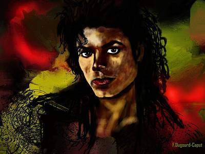 Michael Poster by Francoise Dugourd-Caput