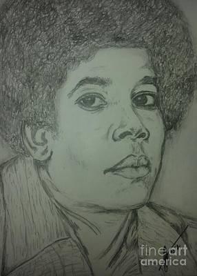 Michael Jackson Art Poster by Collin A Clarke