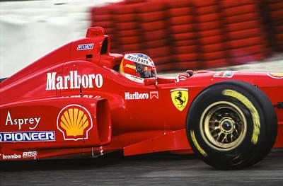 Michael Schumacher  Poster by Jose Bispo