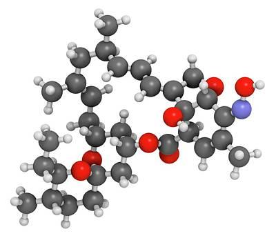Milbemycin Oxime Antiparasitic Drug Poster