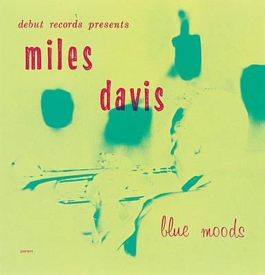 Miles Davis -  Blue Moods Poster