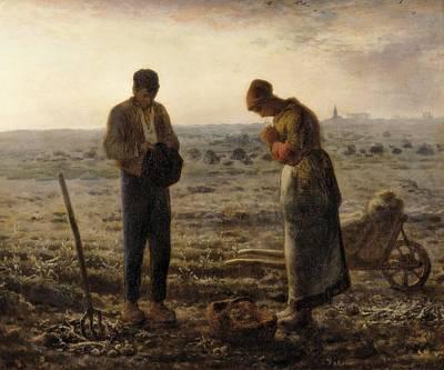 Millet, Jean Fran�ois 1814-1875. The Poster