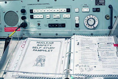 Minuteman Missile Control Room Poster by Jim West