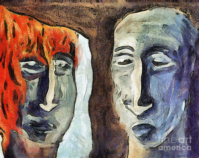 Mirroring - Retrospect Poster by Michal Boubin