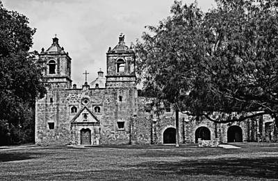 Poster featuring the photograph Mission Concepcion by Andy Crawford