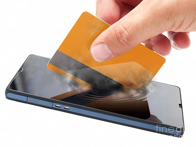Mobile Payment Poster by Sinisa Botas