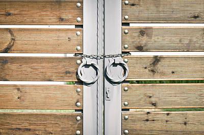 Modern Gate Poster by Tom Gowanlock