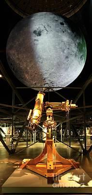 Moon Exhibition Model, Germany Poster by Detlev van Ravenswaay
