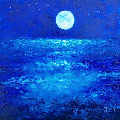 Moon Rise Poster by Jan Matson