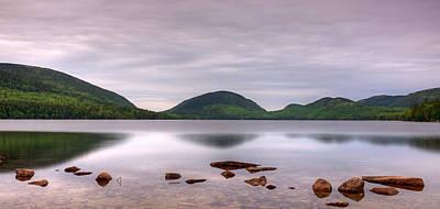 Morning Stillness On Eagle Lake, Acadia Poster