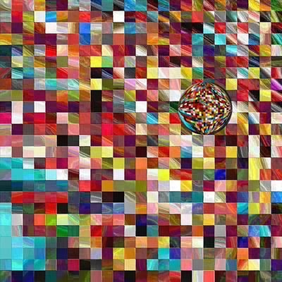 #1 Mosaic Series Poster