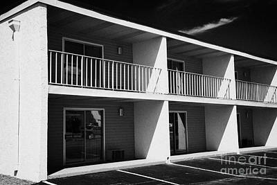 Mostly Empty Cheap Budget Motel In Kissimmee Florida Usa Poster