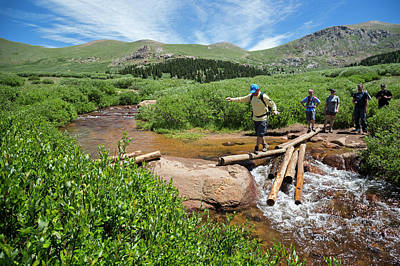 Mount Bierstadt Hiking Trail Poster by Jim West