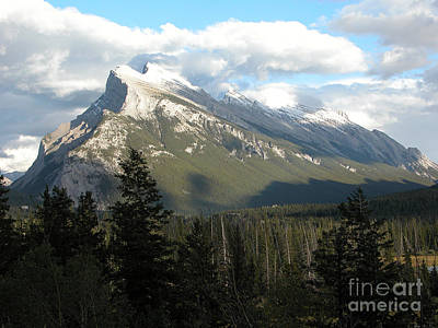 Mount Rundle Poster by Stuart Turnbull