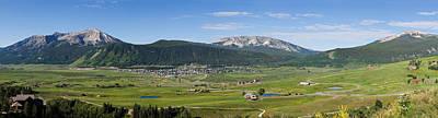Mountain Range, Crested Butte, Gunnison Poster