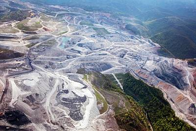 Mountaintop Removal Coal Mining Poster