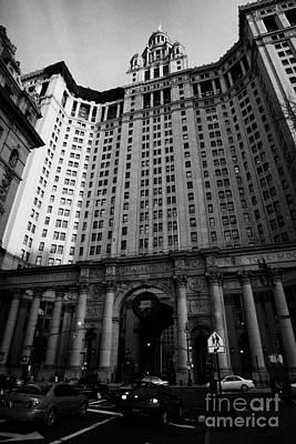 Municipal Building Centre Street New York City Poster by Joe Fox
