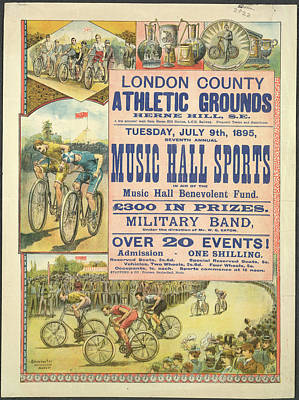 Music Hall Sports Poster by British Library