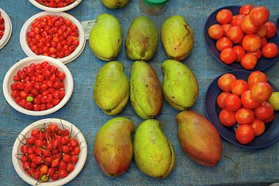Nadi Produce Market, Nadi, Viti Levu Poster by David Wall