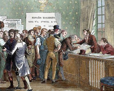 Napoleon Bonaparte (1769-1821 Poster
