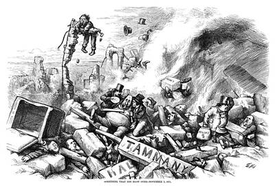 Nast Tweed Ring, 1871 Poster by Granger