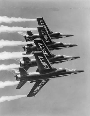 Navy's Blue Angels Poster