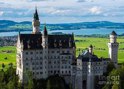 Neuschwanstein Castle - Bavaria - Germany Poster by Gary Whitton