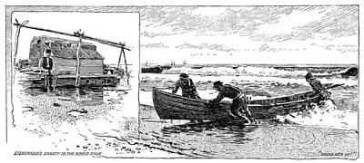 New Jersey Fishing Village Poster