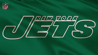 New York Jets Uniform Poster