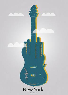 New York  Poster by Mark Ashkenazi