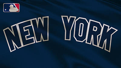 New York Yankees Uniform Poster by Joe Hamilton
