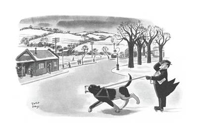 New Yorker February 20th, 1943 Poster by Robert J. Day