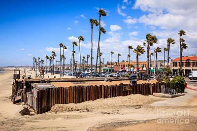 Newport Beach Dory Fishing Fleet Market Poster by Paul Velgos