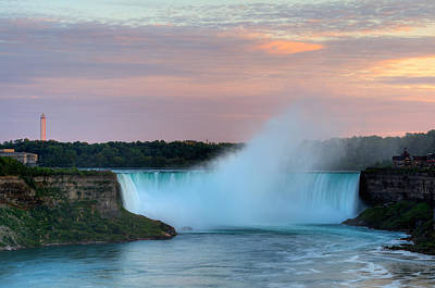 Poster featuring the photograph Niagara Falls by Marek Poplawski