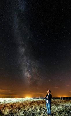 Night Sky In Dark Sky Reserve Poster by Babak Tafreshi