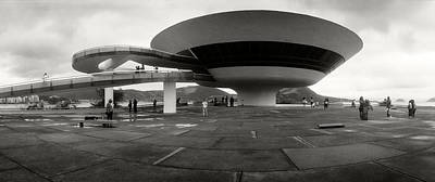 Niteroi Contemporary Art Museum Poster by Panoramic Images