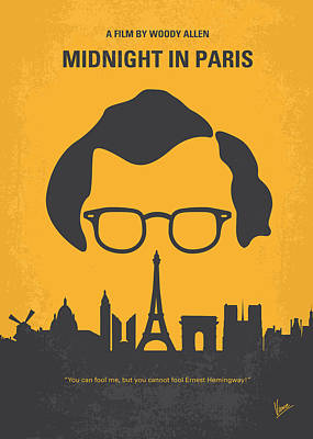 No312 My Manhattan Minimal Movie Poster Poster