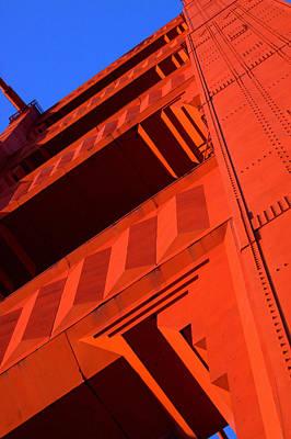 North Tower Golden Gate Bridge Poster