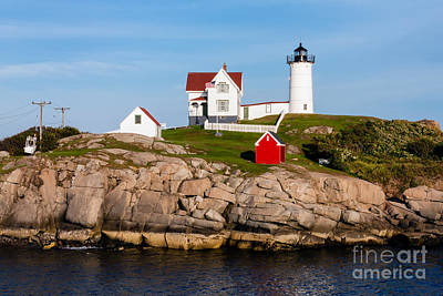 Nubble Light York Maine Poster by Dawna  Moore Photography