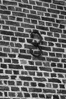Number Tree On Brick Poster by Iris Richardson