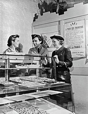 Nyc Servicewomen, C1940 Poster