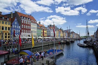 Nyhavn - Copenhagen Denmark Poster by Jon Berghoff