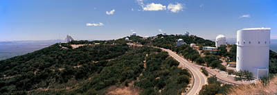 Observatory On A Hill, Kitt Peak Poster by Panoramic Images