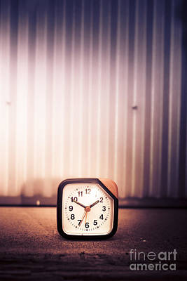 Old Analog Clock Poster by Jorgo Photography - Wall Art Gallery