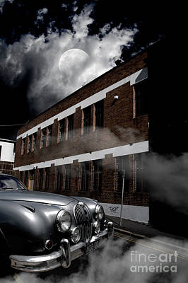 Old Car Near Building Poster by Jorgo Photography - Wall Art Gallery